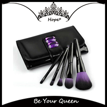 5pcs Purple Sapphire Make Up Brushes