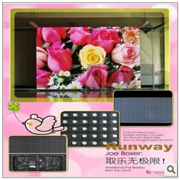 SMD P4 indoor led display fixed led video screen