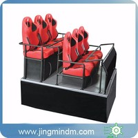 Dynamic 6DOF 6 Seats Hydraulic Platform Mini 5d Cinema with cabin