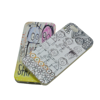 IMD Polycarbonate Funky Mobile Phone Case For iPhone 5 Expert for OEM/ODM