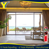 USA standards thermally broken aluminium used sliding glass doors sale