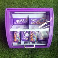 table top chocolate display mini fridge mini refrigerator