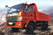 Price FOTON 3tons Light Small Dump Tipper Truck For Sale