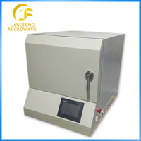 Manufacturer supplier PID control Laboratory muffle furnace ,1700 degree Ceramic Sintering Electric mini Furnace