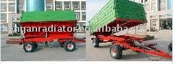 CE 5Ton 4-wheel hydraulic Dump trailer for tractor