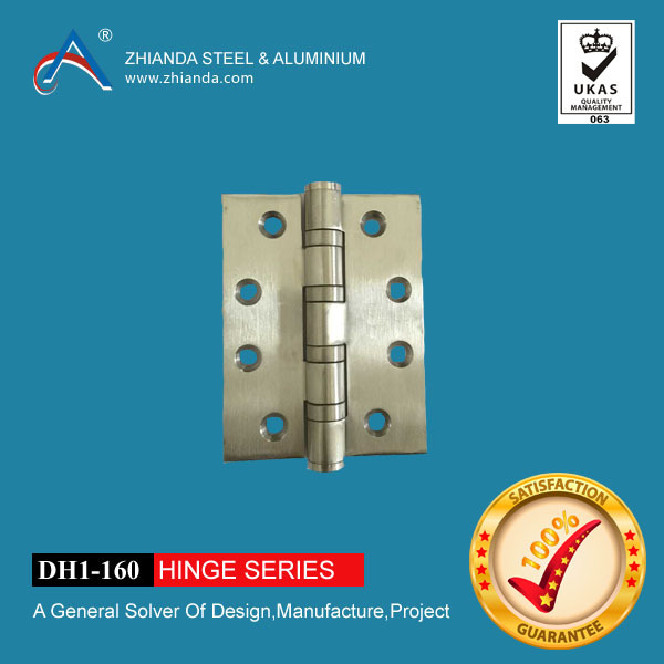 Glass shower door aluminum hinge