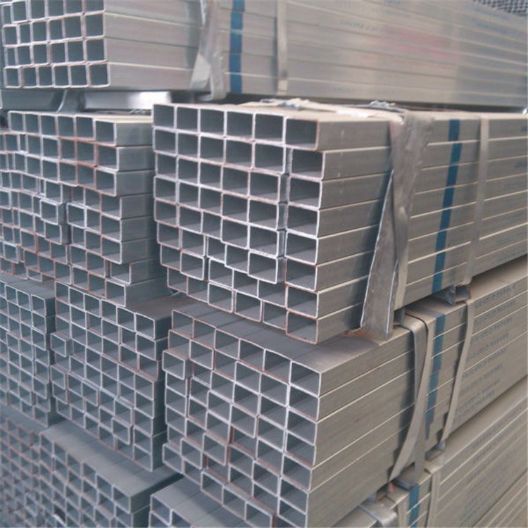 pre galvanised square hollow section thick wall galvanize pipe
