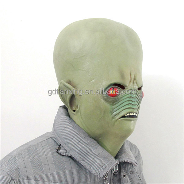 Scary Tortured Ugly Man Adult Halloween Costume Mask