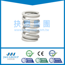 ISO9001 TS16949 RoHS factory price metal compression coil spring tin plated zinc plated stainless steel compression spring