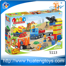 2016 New creative DIY construction site building blocks toys for sale