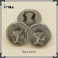 alloy metal clothing button for military