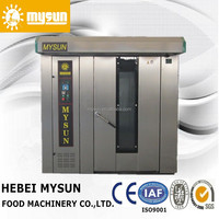 CE approval Stainless Steel gas Rotary Oven