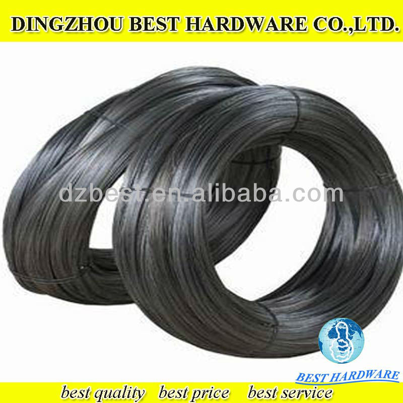 12 gauge low price black annealed wire factory