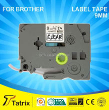 Compatible TZe-221 TZe221 TZ221 label tape for Brother cassette P-Touch printer