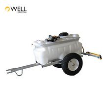 China Factory OEM Service Plastic Water Tank Trailer With Pump For Car Tanker Truck Capacity