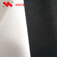 (8009)100% Polyester Shirt Thin Fusible Woven Women Apparel Interlining