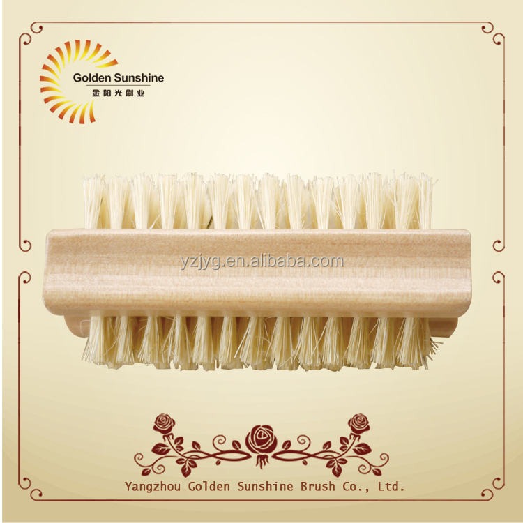 Hot selling wooden nail scrub cleaning brush with FSC certificate