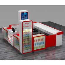 mall red cell phone accessory kiosk cell phone repair kiosk for sale
