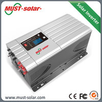 Wholesale Alibaba 3kw Inverter 24v 220v use solar panel and deep cycle battery with solar charger controller