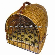 Traditional Wicker pet basket Soft and comfortable