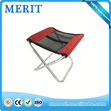 Steel tube fishing furniture camping chair style fishing stool foldable, picnic general use min folding step chair