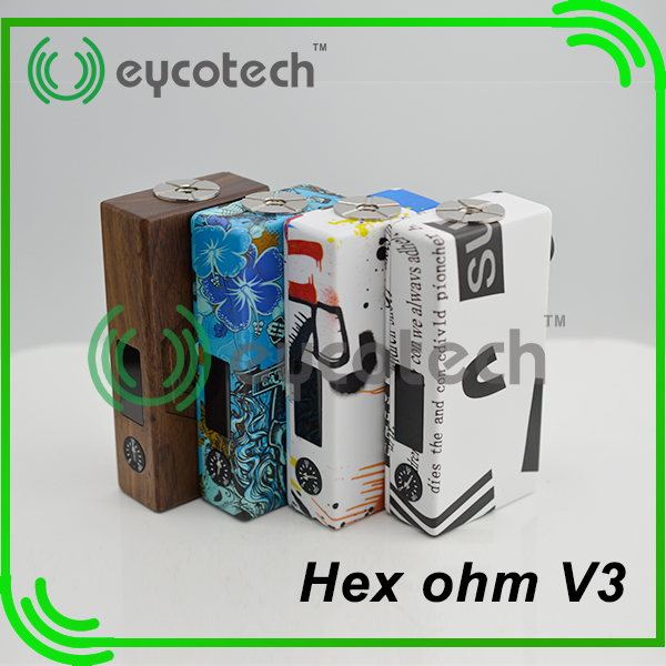 Hot sale and looks cool ! alibaba express brazil Hexohm v3 box mod accept paypal