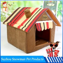 Factory Direct Sale Cheap Plush dog house with ac for sale