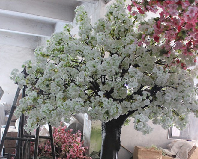 Natural-like Artificial Cherry Blossom Tree/Factory Plastic Cherry Blossom Tree