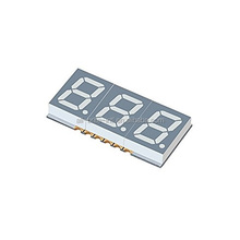 0.39 inch Triple Digit LED Display 3 digit 7 segment led display