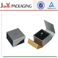 Flip lid jewelry packing boxes for rings only