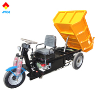 2017 powerful open body 1000W 48V three wheel electric cargo tricycle