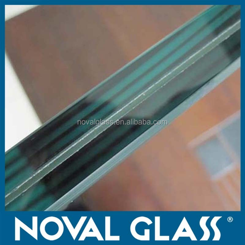 Clear Laminated Glass; Milk white, Oceanic blue, Ford blue, Bronze laminated safety glass