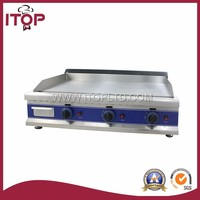 DGT900 With CE stainless steel gas griddle for restaurant