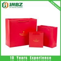 Luxurious customised logo shopping paper bags