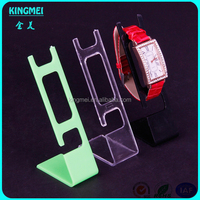 2015 New Design Acrylic Pocket Wrist Watch Display Stand