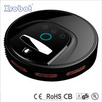 Batteri operated mini robotic auto vacuum cleaner with multifunction