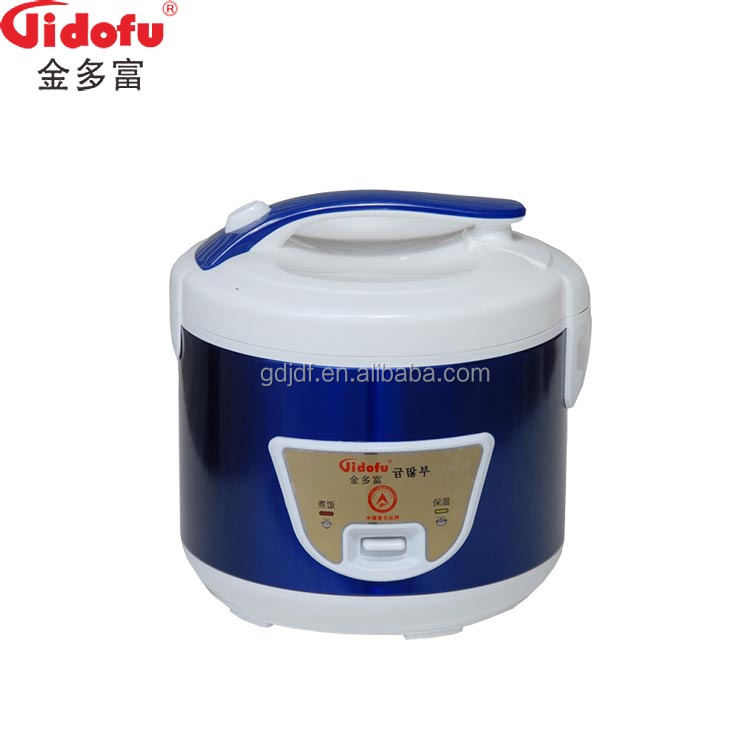 High quality 1.5L cylinder traditional blue elegant electric rice cooker