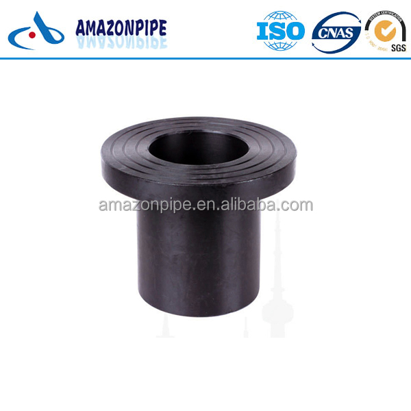 Supply HDPE flange pipe fitting plastic stub end 1.6MPa price