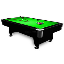 pool table ,billiard table with green cloth