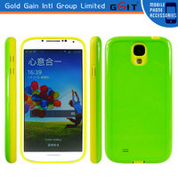 2014 New Arrival TPU + PC Smartphone Case For Samsung S4 i9500 TPU + PC Back Cover Cases
