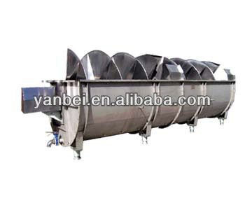 Chicken Slaughtering Stainless Steel Spin Chiller for chicken meat processing equipment