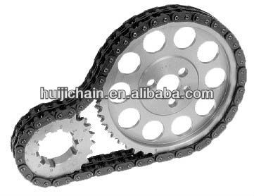 hot sale roller chain and sprocket a complete set of drive system