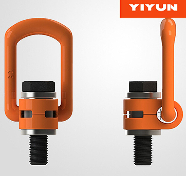 Qingdao <strong>Hardware</strong> YD083 M24 WLL 7T G80 eye and eye stainless steel Swivel Hoist Ring