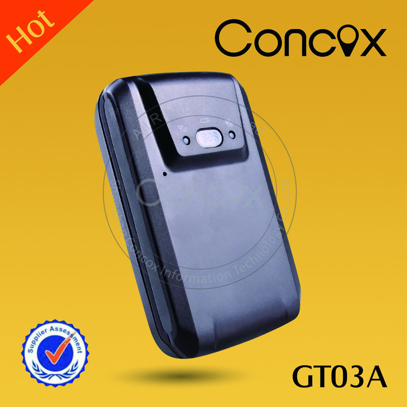 Concox gps trailer device gps tracker walkie talkie with gsm GT03A