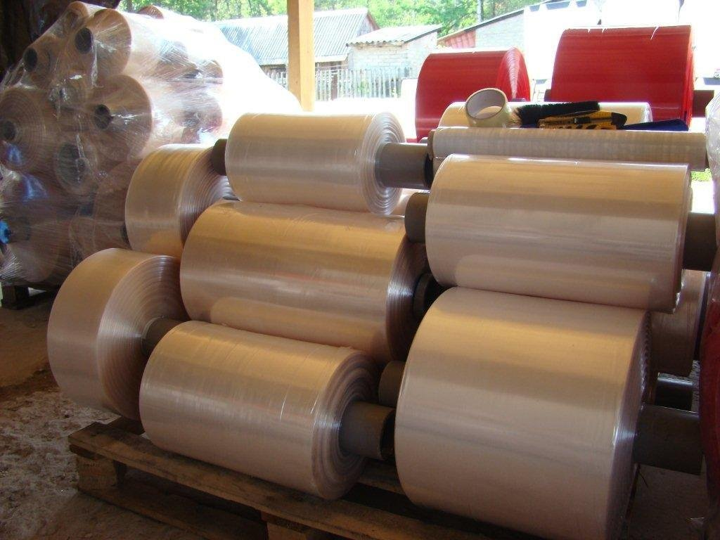 Barrier vacum shrink tubing film