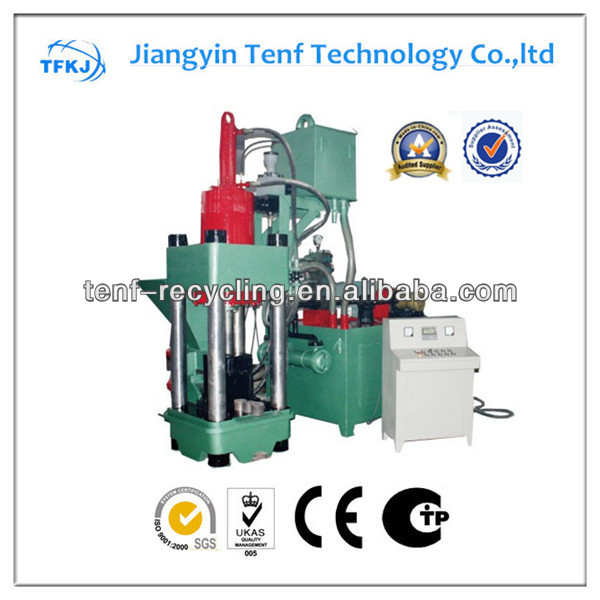 Y83-2500 hydraulic iron briquetting machine CE