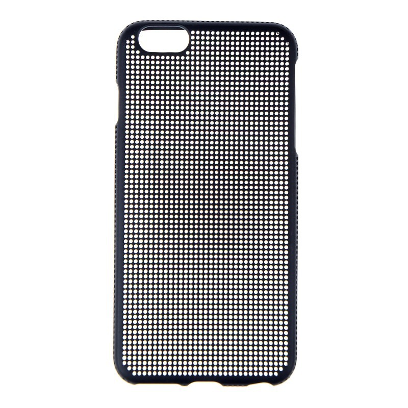 Mobile phone case cross stitch TPU Mesh case for iPhone6 plus