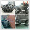 marine rubber fenders for boat with old rubber