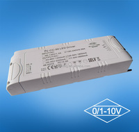 80w 1650ma 48v 0-10v PWM one channel dimmable constant voltage led driver, led transformer, led power supply