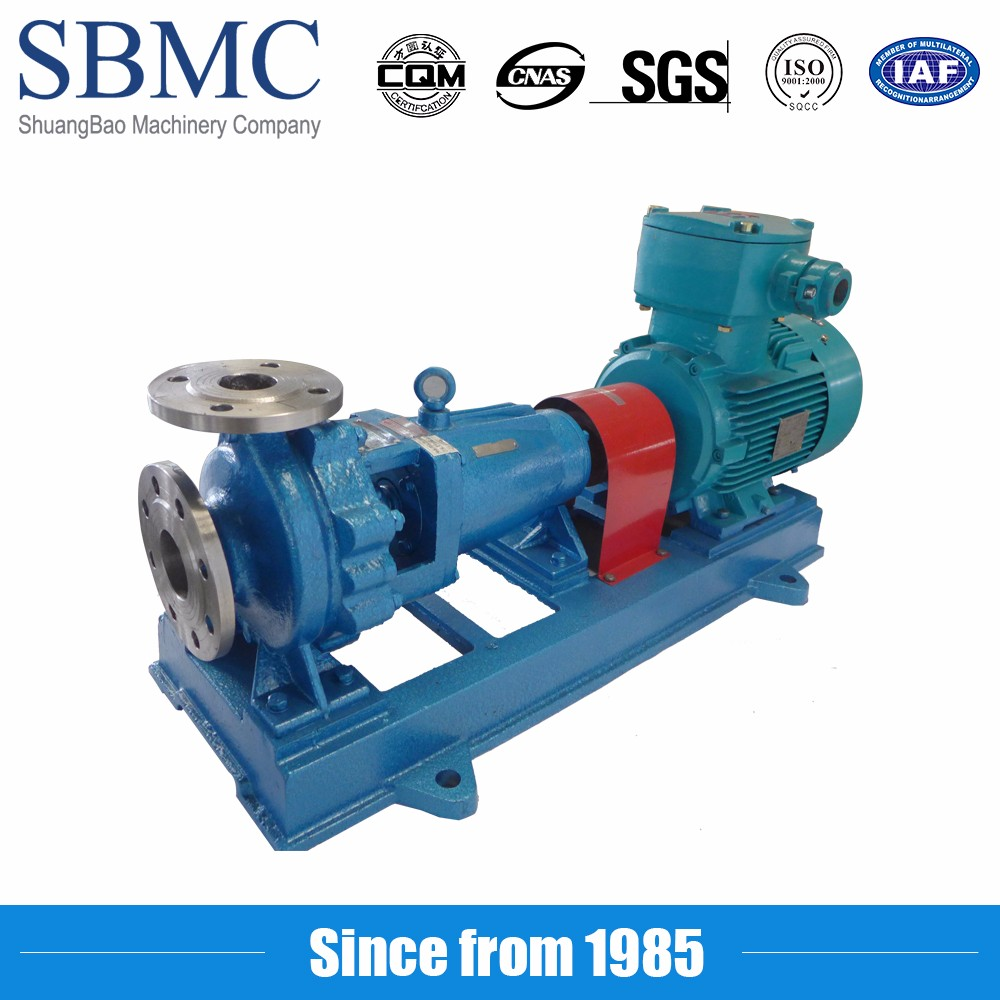High quality cryogenic liquid semi axial flow pump ISO9001 certificate